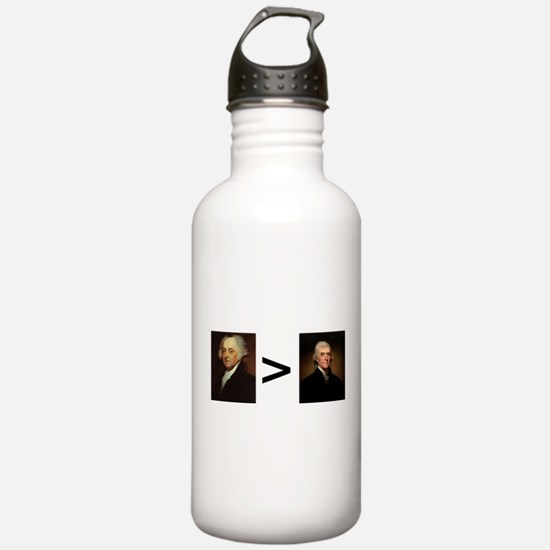 John greater than Tom Water Bottle