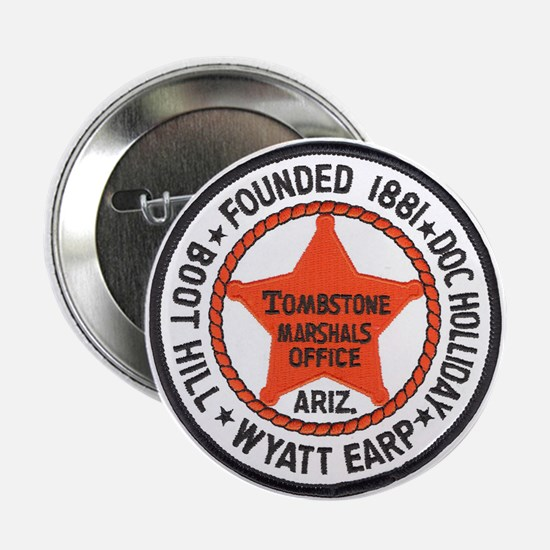 Tombstone Marshal Button