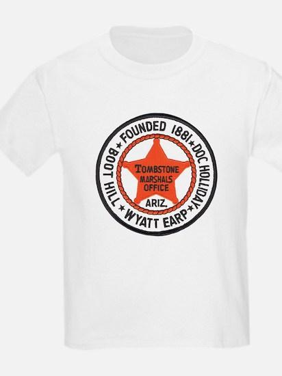Tombstone Marshal Kids T-Shirt