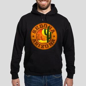 Sedona Desert Circle Hoodie (dark)