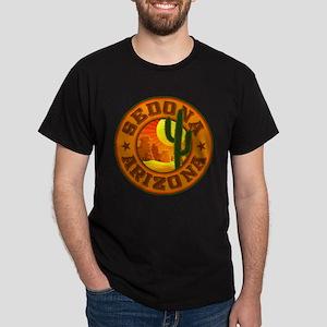 Sedona Desert Circle Dark T-Shirt