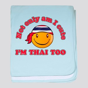 Cute and Thai baby blanket