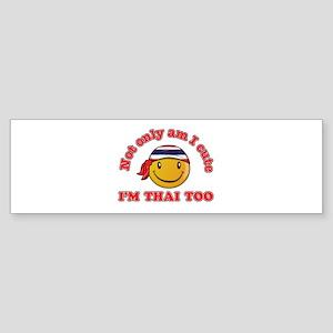 Cute and Thai Sticker (Bumper)