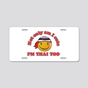 Cute and Thai Aluminum License Plate
