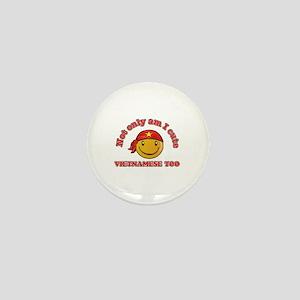 Cute and Vietnamese Mini Button