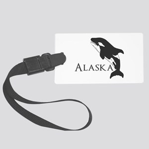 Whale Song Large Luggage Tag