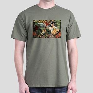 Vintage Mexico Dark T-Shirt
