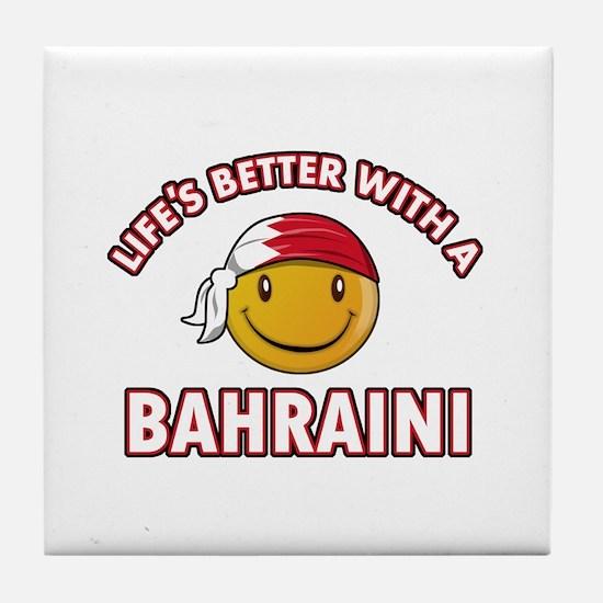 Lifes better with a Bahraini Tile Coaster