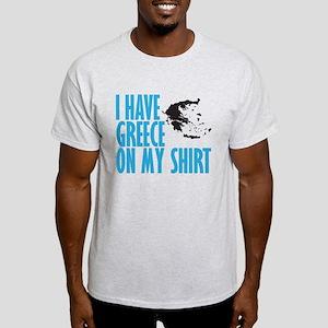greece on my shirt Light T-Shirt