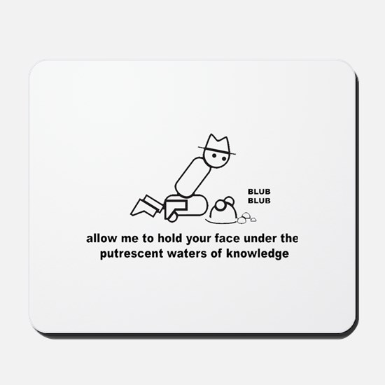 Waters of Knowledge Mousepad