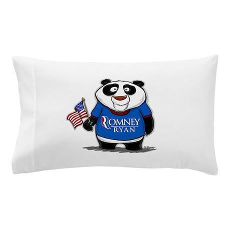 Panda Politics for Romney Pillow Case