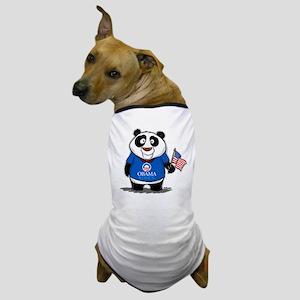 Panda Politics for Obama Dog T-Shirt