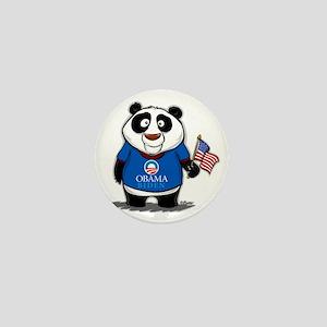 Panda Politics for Obama Mini Button
