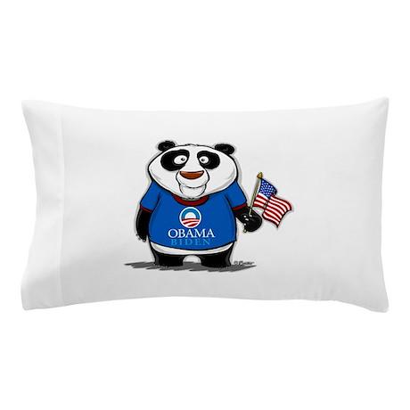 Panda Politics for Obama Pillow Case