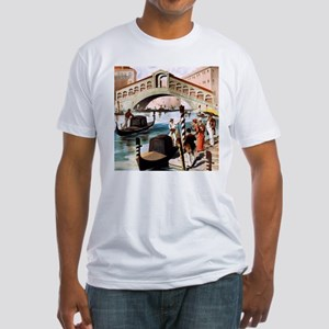 Vintage Venice Fitted T-Shirt