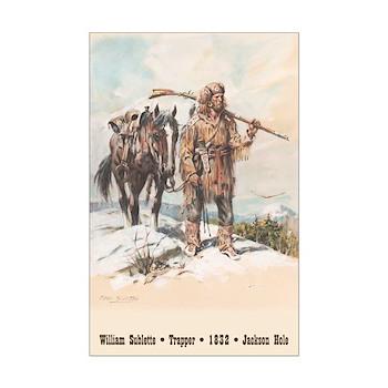 William Sublette - 11x17 poster