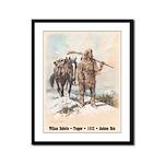 William Sublette - 9x12 framed print