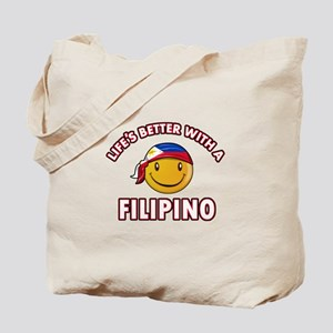 Lifes better with a Filipino Tote Bag