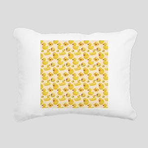 Rubber Duck Rectangular Canvas Pillow