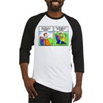 Golf cartoon Baseball Jersey