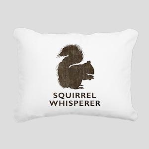 Vintage Squirrel Whisperer Rectangular Canvas Pill