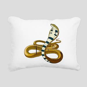 Cobra Rectangular Canvas Pillow