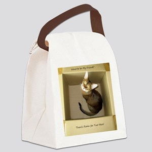 Room for Two Canvas Lunch Bag