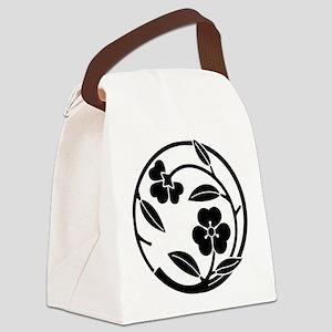 Kawari katabami edamaru Canvas Lunch Bag