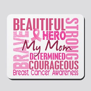 Tribute Square Breast Cancer Mousepad