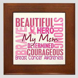 Tribute Square Breast Cancer Framed Tile