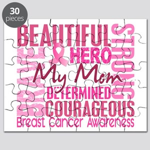 Tribute Square Breast Cancer Puzzle