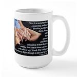 'I'm With You' Large Mug
