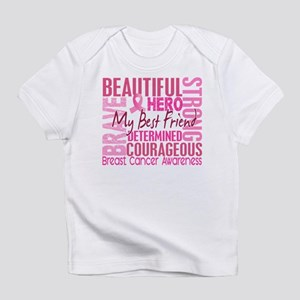 Tribute Square Breast Cancer Infant T-Shirt