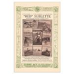 Red Sublette, Cowboy Clown - 23x35 poster