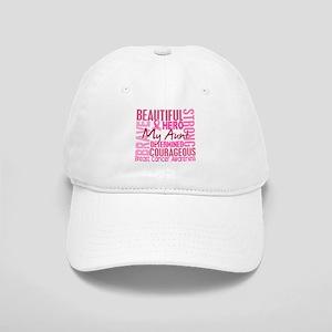 Tribute Square Breast Cancer Cap