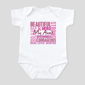 Tribute Square Breast Cancer Infant Bodysuit