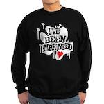 I've Been Imprinted Sweatshirt (dark)