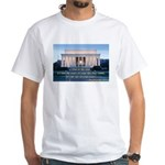 'The life in your years' White T-Shirt