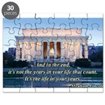 'The life in your years' Puzzle