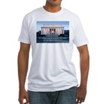'The life in your years' Fitted T-Shirt