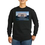 'The life in your years' Long Sleeve Dark T-Shirt