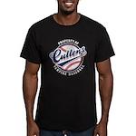 Cullens Baseball Men's Fitted T-Shirt (dark)