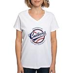 Cullens Baseball Women's V-Neck T-Shirt