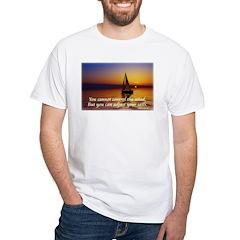 'Adjust Your Sails' White T-Shirt