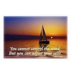 'Adjust Your Sails' Postcards (Package of 8)
