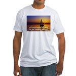 'Adjust Your Sails' Fitted T-Shirt
