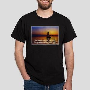 'Adjust Your Sails' Dark T-Shirt