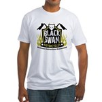 Black Swan Motorcycles Fitted T-Shirt