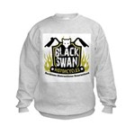 Black Swan Motorcycles Kids Sweatshirt