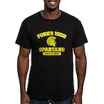 Fork High Men's Fitted T-Shirt (dark)